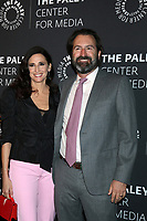 LOS ANGELES - NOV 21:  Michaela Watkins, Fred Kramer at the The Paley Honors: A Special Tribute To Television's Comedy Legends at Beverly Wilshire Hotel on November 21, 2019 in Beverly Hills, CA