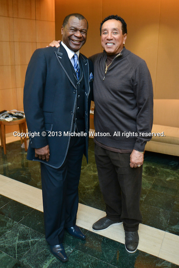 Smokey Robinson performs with the Houston Symphony at Jones Hall