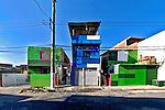 Reurbanização da favela de Heliópolis, São Paulo. 2004. Foto de Juca Martins.