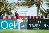 Haydn Porteous (RSA) during the 3rd round of the AfrAsia Bank Mauritius Open, Four Seasons Golf Club Mauritius at Anahita, Beau Champ, Mauritius. 01/12/2018<br /> Picture: Golffile | Mark Sampson<br /> <br /> <br /> All photo usage must carry mandatory copyright credit (© Golffile | Mark Sampson)