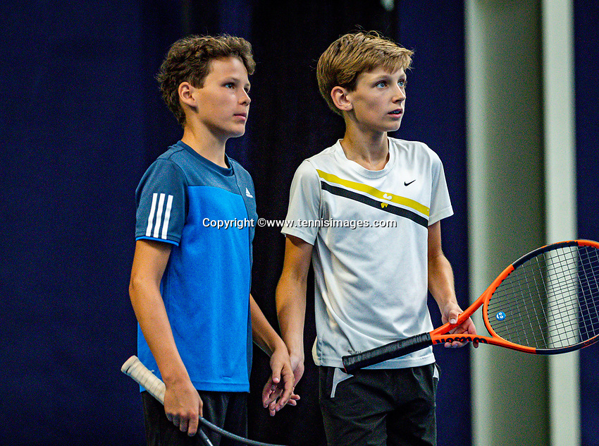 Hilversum, Netherlands, Juli 31, 2019, Tulip Tennis center, National Junior Tennis Championships 12 and 14 years, NJK, Boys Doubles:<br /> Photo: Tennisimages/Henk Koster