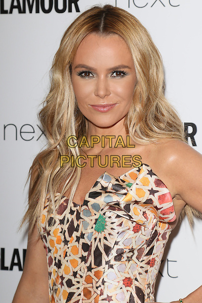 LONDON, ENGLAND - Amanda Holden at the Glamour Magazine 'Woman of the Year' Awards at Berkeley Square Gardens, on June 2nd 2015 in London, England<br /> CAP/ROS<br /> &copy;Steve Ross/Capital Pictures