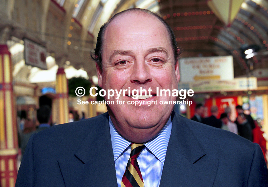 Nicholas Soames, Conservative Party, MP, former minister, Britain, UK. Taken at Conservative Party Conference, Blackpool. Ref: 199910129...Copyright Image from Victor Patterson, 54 Dorchester Park, Belfast, UK, BT9 6RJ..Tel: +44 28 9066 1296.Mob: +44 7802 353836.Voicemail +44 20 8816 7153.Skype: victorpattersonbelfast.Email: victorpatterson@mac.com.Email: victorpatterson@ireland.com (back-up)..IMPORTANT: If you wish to use this image or any other of my images please go to www.victorpatterson.com and click on the Terms & Conditions. Then contact me by email or phone with the reference number(s) of the image(s) concerned.