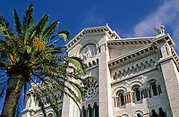 Monaco. St. Nicolas Cathedral.  Constructed between 1875 and 1903.  The princes' tombs are in the cathedral and there is also a fine collection of paintings by the Nice School..