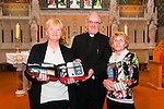 Difib Training : Pictured to announce the up coming training in order to operate a difibrealator at St. Mary's Church, Listowel were Catherine O'Donnell, Canon Declan O'Connor & Margaret Carmody, Irish Heart Foundation Trainer.