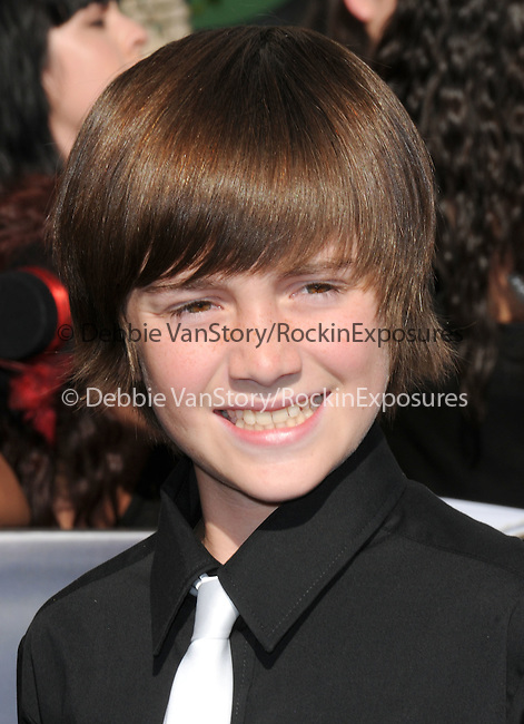 Greyson Chance  at the Summit Entertainment's Premiere of The Twilight Saga : Eclipse held at the Los Angeles Film Festival at Nokia Live in Los Angeles, California on June 24,2010                                                                               © 2010 Debbie VanStory / Hollywood Press Agency