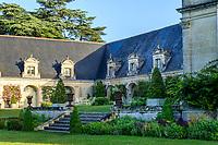 France, Indre-et-Loire (37), Montlouis-sur-Loire, jardins du château de la Bourdaisière, les communs