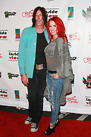 LOS ANGELES, CA, USA - OCTOBER 26: Kevin Starr, Gretchen Bonaduce arrive at An Evening Of Art With Billy Morrison And Joey Feldman Benefiting The Rock Against MS Foundation held at Village Studios on October 26, 2014 in Los Angeles, California. (Photo by David Acosta/Celebrity Monitor)