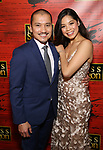 "Jon Jon Briones and Eva Noblezada attend The Opening Night After Party for the New Broadway Production of ""Miss Saigon"" at Tavern on the Green on March 23, 2017 in New York City"