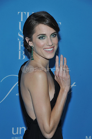 NEW YORK, NY - NOVEMBER 30: Allison Williams attends the 12th Annual UNICEF Snowflake Ball at Cipriani Wall Street on November 29, 2016 in New York City. @John Palmer / Media Punch