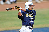 17 April 2010:  FIU's Jeremy Patton (22) bats in the fifth inning as the FIU Golden Panthers defeated the University of New Orleans Privateers, 6-4, at University Park Stadium in Miami, Florida.