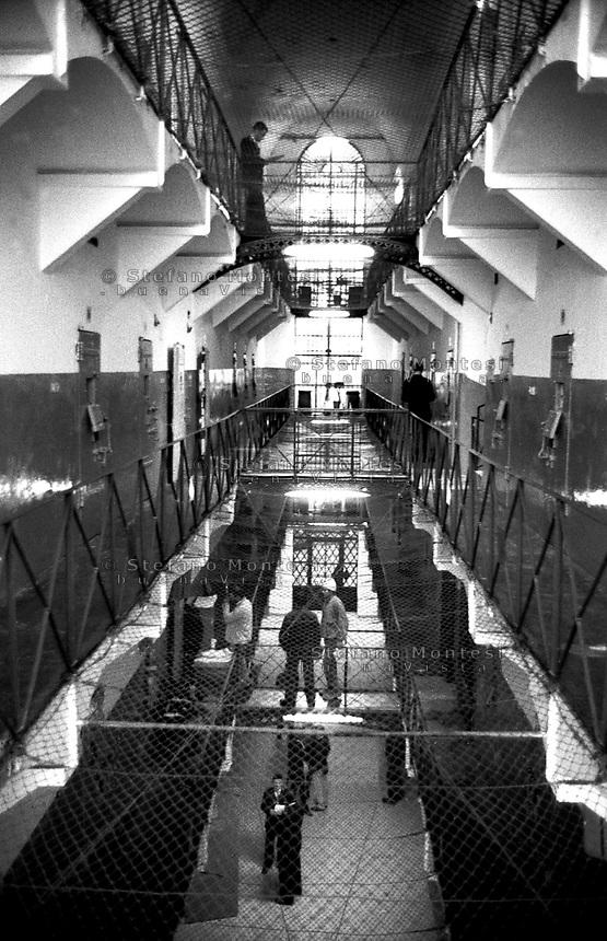 Roma 2000.Carcere di Regina Coeli  .L'interno. Regina Coeli (Queen of Heaven) Prison.The inside