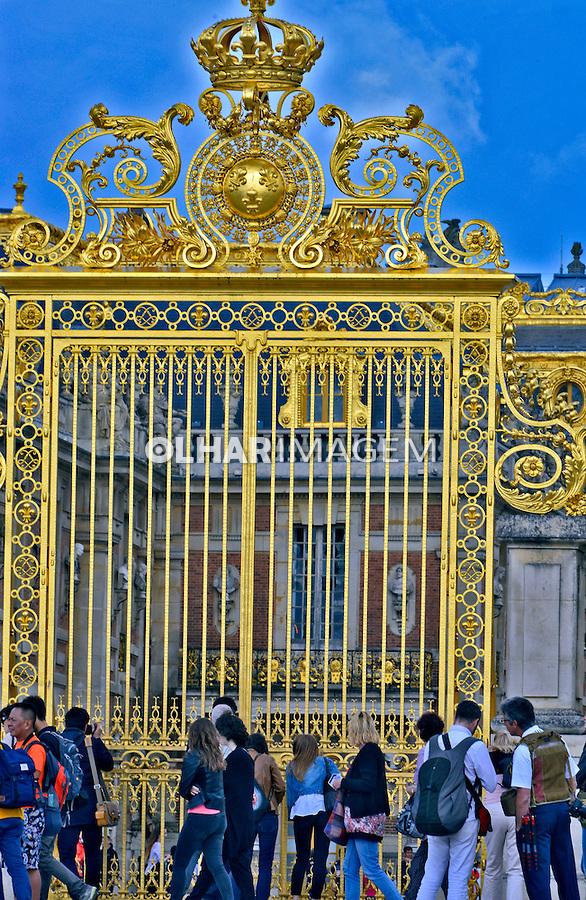Palacio de Versalhes em Paris. França. 2016. Foto de Juca Martins.