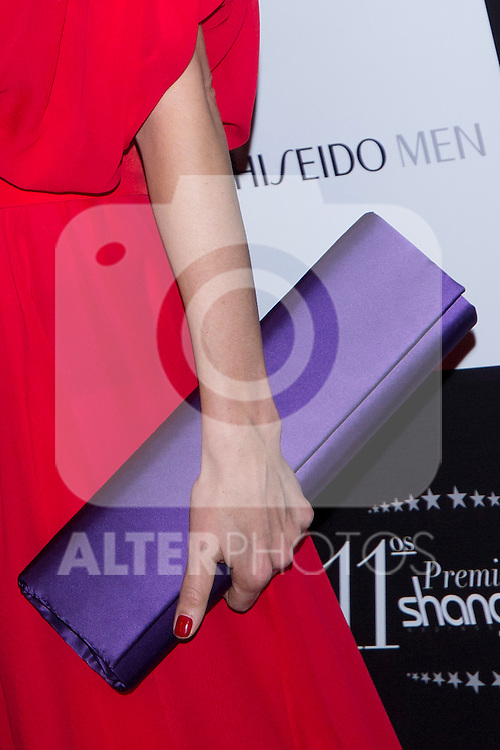 27.03.2012. Delivery of the 11 th prize at the Teatro Calderon Shangay Madrid. Shangay Awards are given for 10 years to outstanding personalities from the cultural and social. Readers are those who vote Shangay their favorites in each category. In the picture: Adriana Abascal (Alterphotos/Marta Gonzalez)