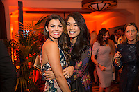 Ali Landry and Crystal Minkoff attend Healthy Child Healthy World's L.A. Gala on Oct. 27, 2016 (Photo by Inae Bloom/Guest of a Guest)