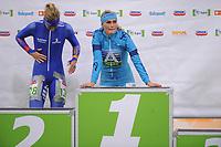 SCHAATSEN: HEERENVEEN: 04-11-2017, IJsstadion Thialf, Marathonschaatsen, ©foto Martin de Jong