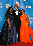 LOS ANGELES, CA. - February 12: Writer Shonda Rhimes, actor James Pickens Jr. and actress Chandra Wilson (L-R) pose in the press room for the 40th NAACP Image Awards at the Shrine Auditorium on February 12, 2009 in Los Angeles, California.