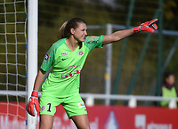 20181027 - CAMPHIN-EN-PEVELE , FRANCE : Montpellier's Casey Murphy pictured during the 8 th competition game between the women teams of Lille OSC and Montpellier Herault Sporting Club in the 2018-2019 season of the first Division - Ligue 1 at Domaine de Luchin , Saturday 27th Octobre 2018 ,  PHOTO Dirk Vuylsteke | Sportpix.Be