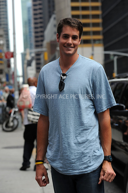 WWW.ACEPIXS.COM . . . . . ....June 28 2010, New York City....Tennis player John Isner made an appearance at the 'Late Show with David Letterman' on June 28 2010 in New York City....Please byline: KRISTIN CALLAHAN - ACEPIXS.COM.. . . . . . ..Ace Pictures, Inc:  ..(212) 243-8787 or (646) 679 0430..e-mail: picturedesk@acepixs.com..web: http://www.acepixs.com