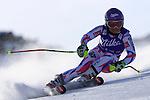 24/10/2015, Soelden - FIS Alpine Ski World Cup <br /> Tessa Worley in action on October 24, 2015 in Soelden, Austria. <br /> &copy; Pierre Teyssot