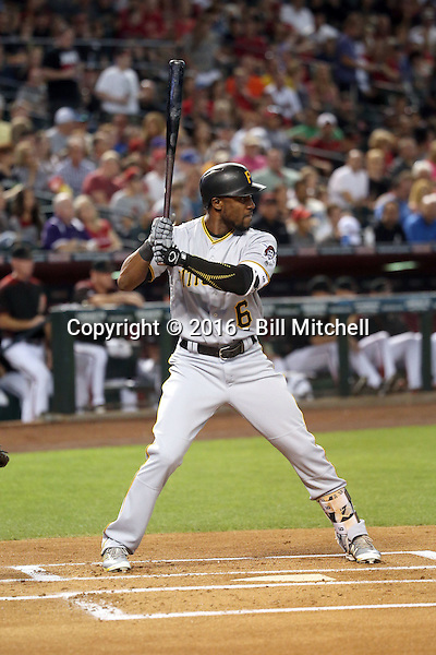 Starling Marte - 2016 Pittsburgh Pirates (Bill Mitchell)