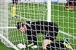 UEFA Champions League 2013/2014.<br /> FC Barcelona vs Celtic FC: 6-1 - Game: 6.<br /> Fraser Forster.