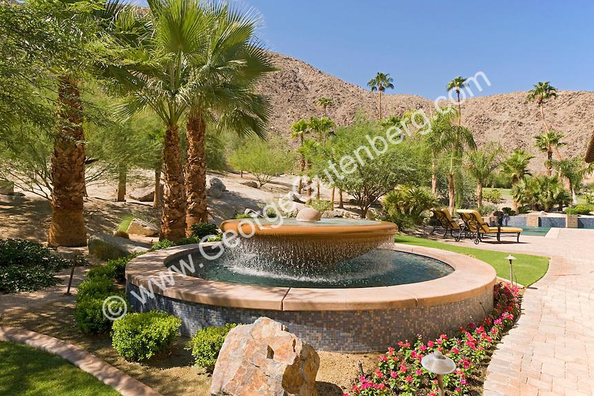 Stock photo of beautiful water fountain