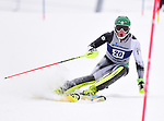 FRANCONIA, NH - MARCH 10: Tanguy Nef of Dartmouth participates in the men's slalom at the Division I Men's and Women's NCAA Skiing Championships held at Jackson Ski Touring on March 10, 2017 in Jackson, New Hampshire. (Photo by Gil Talbot/NCAA Photos via Getty Images)