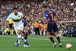 53e Trofeu Joan Gamper.<br /> FC Barcelona vs Club Atletico Boca Juniors: 3-0.<br /> Arturo Vidal, Edwin Cardona &amp; Philippe Coutinho.