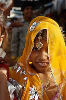 Kind auf dem Markt, Jodhpur (Rajasthan), Indien