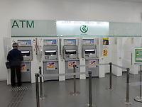 Resona Bank ATM machine in Tachkawa, Japan..13 Apr 2010