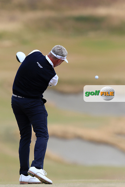 Darren CLARKE (NIR) tees off the 4th tee during Thursday's Round 1 of the 2015 U.S. Open 115th National Championship held at Chambers Bay, Seattle, Washington, USA. 6/18/2015.<br /> Picture: Golffile | Eoin Clarke<br /> <br /> <br /> <br /> <br /> All photo usage must carry mandatory copyright credit (&copy; Golffile | Eoin Clarke)