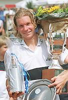 Martijn Bok de nieuwe nederladse tenniskampioen verslaat in de finale de kampioen van vorig jaar  Marcel Reuter.