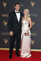 LOS ANGELES, CA - SEPTEMBER 09: Brooks Laich and Julianne Hough at the 2017 Creative Arts Emmy Awards at Microsoft Theater on September 9, 2017 in Los Angeles, California. C