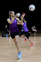 01.09.2017  Jane Watson during the Silver Ferns training session ahead of the Quad Series at the ILT Stadium Southland in Invercargill. Mandatory Photo Credit ©Copyright photo: Dianne Manson/Michael Bradley Photography