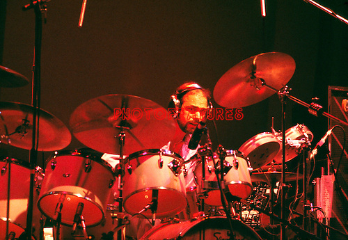 Chicago 1977 Danny Seraphine<br /> © Chris Walter