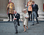 """PRINCE CHARLES AND CAMILLA - THANKSGIVING SERVICE.Members of the Royal Family attend a Thanksgiving Service at St Paul's Cathedral, London in celebration of the Queen's Diamond Jubilee_5th June 2012.Mandatory Credit Photo: ©A Linnett/NEWSPIX INTERNATIONAL..**ALL FEES PAYABLE TO: """"NEWSPIX INTERNATIONAL""""**..IMMEDIATE CONFIRMATION OF USAGE REQUIRED:.Newspix International, 31 Chinnery Hill, Bishop's Stortford, ENGLAND CM23 3PS.Tel:+441279 324672  ; Fax: +441279656877.Mobile:  07775681153.e-mail: info@newspixinternational.co.uk"""