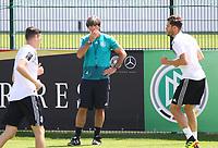 Bundestrainer Joachim Loew (Deutschland Germany) hat bei der Nominierung des WM-Kaders die Qual der Wahl - 01.06.2018: Training der Deutschen Nationalmannschaft zur WM-Vorbereitung in der Sportzone Rungg in Eppan/Südtirol