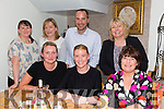 The staff of CH Chemist having a staff night out in Bella Bia's on Friday night.Front l-r Sheila Sheehy,Linda Flynn and Ann Brown.Back l-r Caroline Simpson,Margaret O'Brien,Damien Reed and Claire Harty