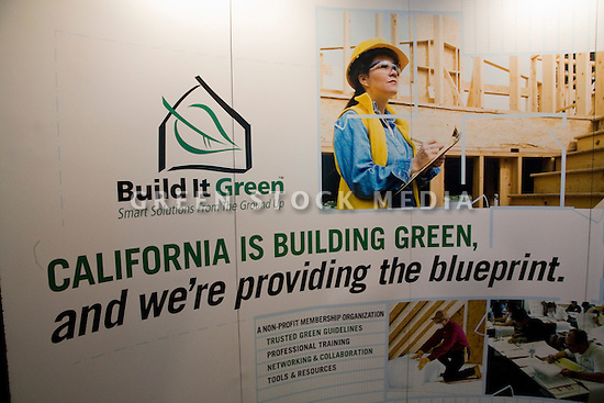 "Build It Green's ""mission is to promote healthy, energy and resource efficient building practices in California. We work with mainstream stakeholders in the housing industry to accelerate the adoption of green building practices, and our short-term goal is to facilitate the greening of 10,000 housing units by the end of 2008.""* West Coast Green is the nation?s largest conference and expo dedicated to green innovation, building, design and technology. The conference featured over 380 exhibitors, 100 presenters, and 14,000 attendees. Location: San Jose Convention Center in Silicon Valley (San Jose, California, USA), September 25-27, 2008 *Source: www.builditgreen.org"