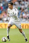 Real Madrid's Cristiano Ronaldo during La Liga match. April 29,2015. (ALTERPHOTOS/Acero)
