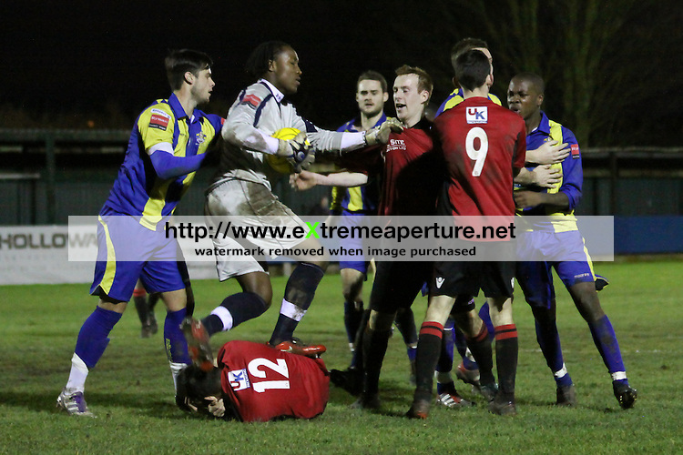 Redbridge FC v Romford Ryman Football League Division One North 31 Dec 2011