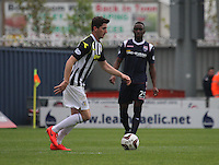 Kenny McLean in the St Mirren v Ross County Scottish Professional Football League Premiership match played at St Mirren Park, Paisley on 3.5.14.
