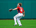 1 March 2011: Washington Nationals' right fielder Jayson Werth on the mound during a Spring Training game against the New York Mets at Space Coast Stadium in Viera, Florida. The Nationals defeated the Mets 5-3 in Grapefruit League action. Mandatory Credit: Ed Wolfstein Photo
