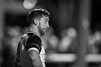 Luke Carter of Ealing Trailfinders during the Greene King IPA Championship match between Ealing Trailfinders and London Irish Rugby Football Club  at Castle Bar, West Ealing, England  on 1 September 2018. Photo by David Horn.