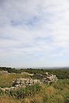 Israel, Shephelah, Hurvat Tzura, site of an ancient settlement