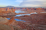 View of Lake Powell from Alstrom Point, Glen Canyon National Recreation Area, Arizona, USA