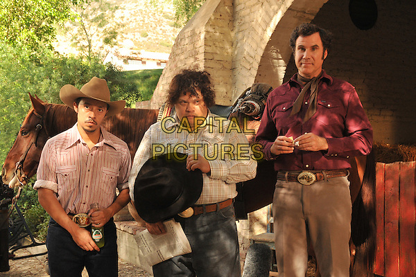 EFREN RAMIREZ, ADRIAN MARTINEZ, WILL FERRELL.in Casa de mi Padre.*Filmstill - Editorial Use Only*.CAP/FB.Supplied by Capital Pictures.