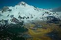 July 17 thru 23 / Alaska / Vacation and stock photography / Spur Volcano in Southwest Alaska / Katmai Pennensula /  Photo by Bob Laramie