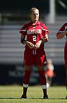 Lauren Krasko, of Maryland, on Sunday, October 16th, 2005 at Duke University's Koskinen Stadium in Durham, North Carolina. The Duke University Blue Devils defeated the University of Maryland Terrapins 1-0 during an NCAA Division I Women's Soccer game.